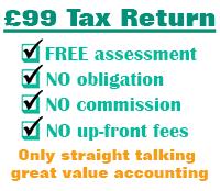 £99 Tax Return
