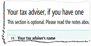 Tax Return Page TR7 Snippet