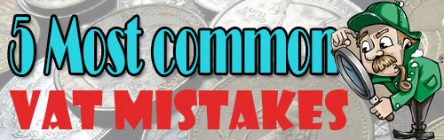 5 most common VAT mistakes